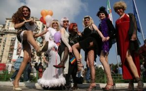 Parada Diversitatii Gay fest travestiti