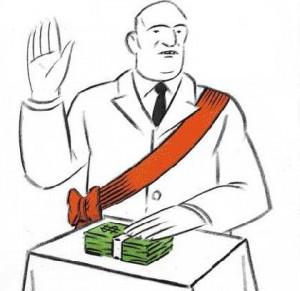 Câţi bani toacă partidele de la buget »