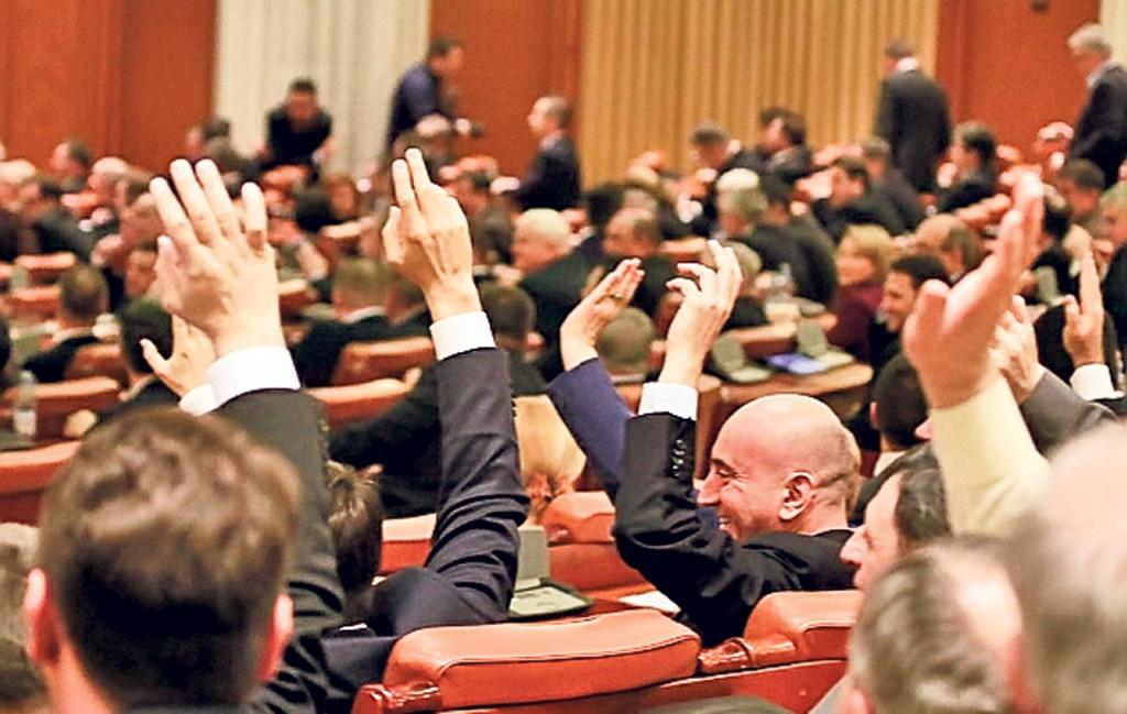 Parlamentari vot