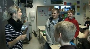Clasa laborator scoala elevi finlandezi