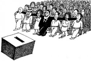 Politician vot mase alegatori manipulare
