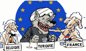 Turcia lup Belgia Franta oile