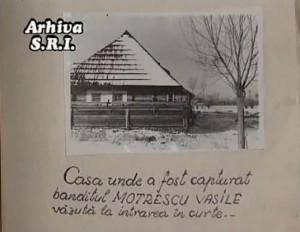 Casa in care a fost capturat Vasile Motrescu CNSAS Securitate SRI
