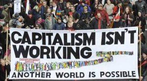 Capitalism austeritate demonstratie