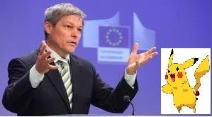 Dacian Ciolos steag UE