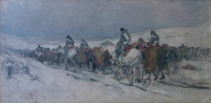 Nicolae Grigorescu - Convoi de prizonieri