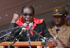Robert Mugabe presedinte Zimbabwe