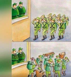 armata-razboi-soldati-decoratii