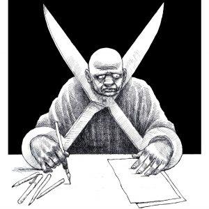 Jurnalist scriitor media presa scris libertate cenzura