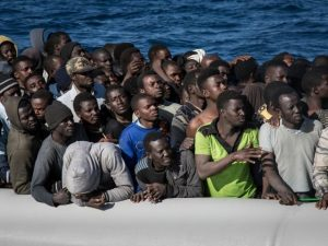 Va deveni Europa, Africa de peste la