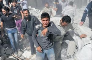 Palestinieni bombardament