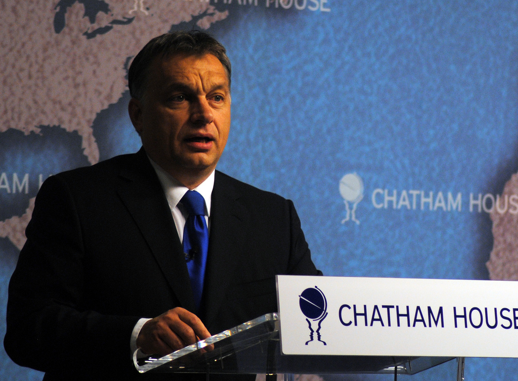 Viktor Orban London Chatham House