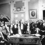 Sfatul Tarii Unirea Basarabiei cu tara mama Romania 27martie 1918