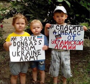 Copii Save Donbass from ukraine army