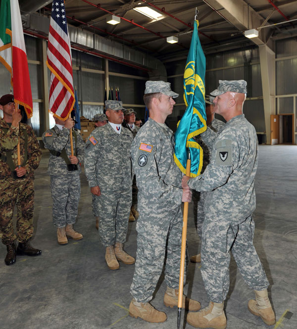 Army field Support Battalion-Italy ceremonie Leghorn Army Depot Warehouse