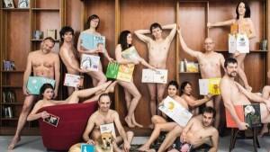 Cu toti in pielea goala contra cenzurii Editori si librari francezi