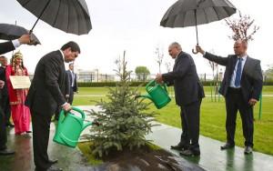 Alexander Lukashenko si Gurbanguly Berdimuhamedow