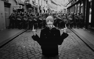 Anonimus Anonymous sistem politie