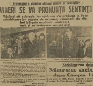 Scanteia Silviu Brucan proces Maresalul Ion Antonescu