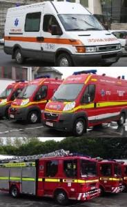 Ambulanta pompieri smurd