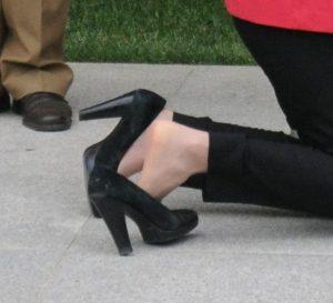 Ana Birchall pantofi Ziua Drapelului