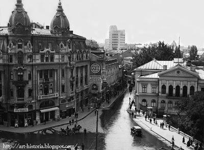 Calea victoriei Bucuresti interbelic Foto de Nicolae Ionescu