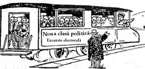 Noua clasa politica schelete vagon