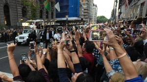 Papa Francisc Manhattan New York