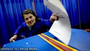Vot batrana alegeri stag Romania UE