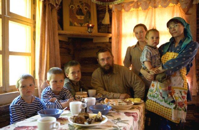 Gherman Sterligov familia