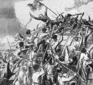 Cucerire reduta Grivita Razboiul de independenta 1877