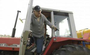 Jose Mujica tractor