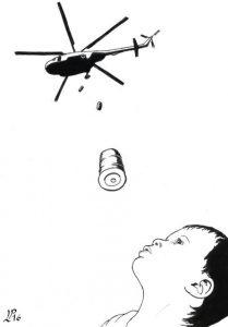 elicopter-bombardament-copil-arme-armata-razboi